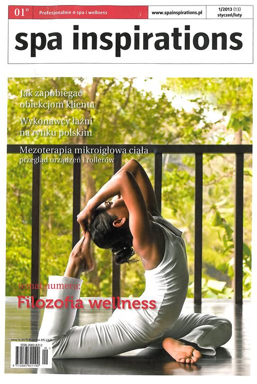 okładka magazynu spa inspirations