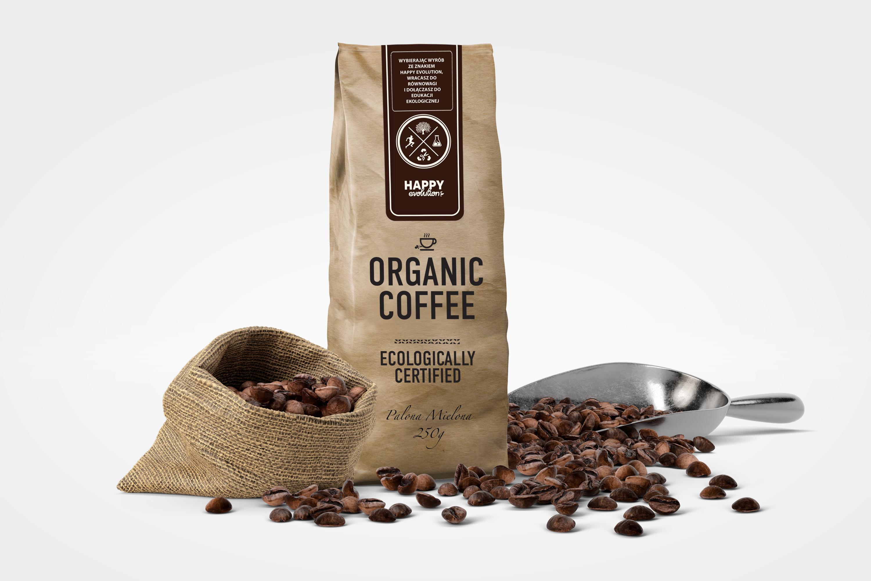 Happy Evolution Organic Coffee_Palona Mielona_250g