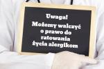 Ratowanie życia alergikom tablica