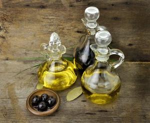 Oliwy w butelkach