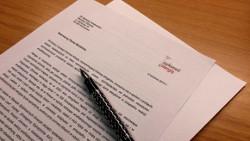 Pismo do Ministra Zdrowia