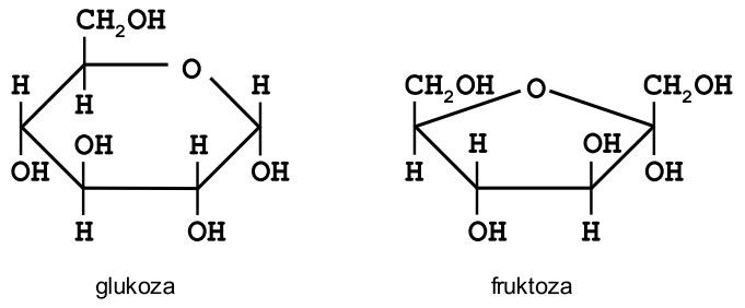 wzory_pierścieniowe_glukoza_fruktoza