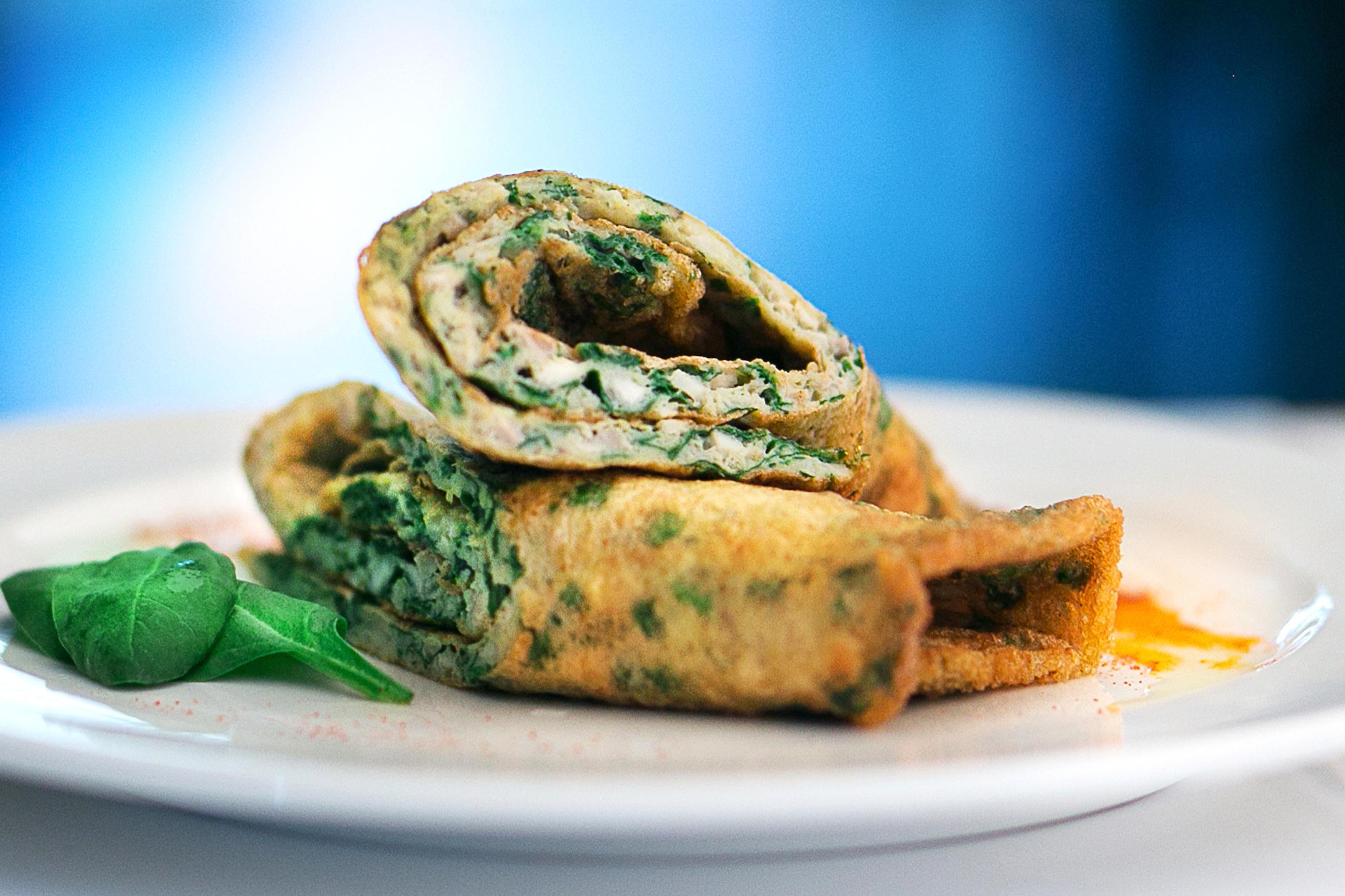 Hipoalergiczni Gaca Kuchnia Fit 2 Omlet Ze Szpinakiem I Pieczarkami