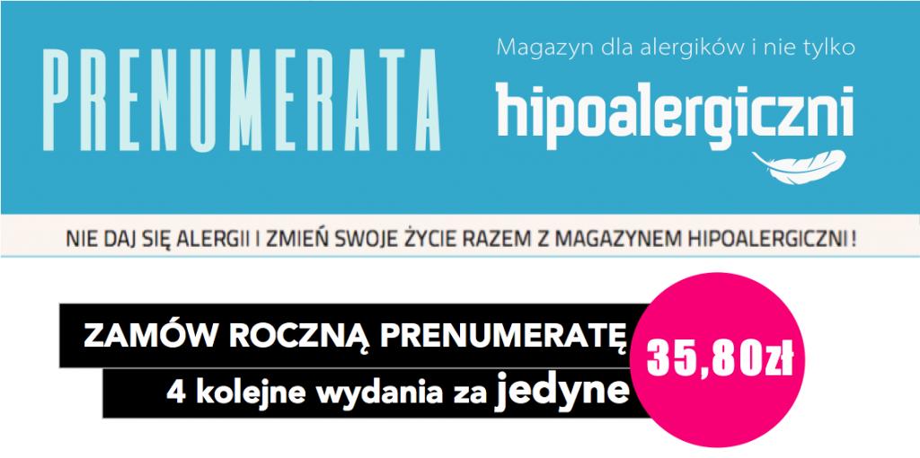 Hipoalergiczni Prenumerata