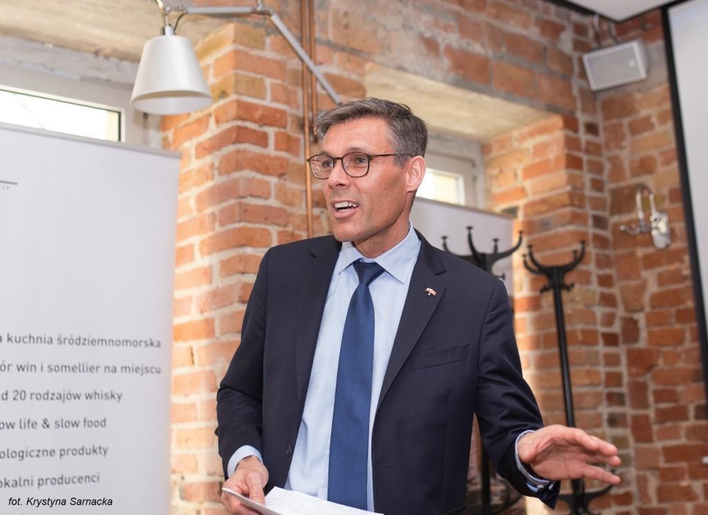 Gość Honorowy - Ambasador Królestwa Danii, Steen Hommel