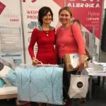 Zdobywczyni pierwszej nagrody w konkursie - poduszki z tkaniny antyroztoczowej - od AlergSova