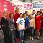 Anna, Karolina, Magda, Magda, Beata, Anna, Jarosław, Żaneta i Mario