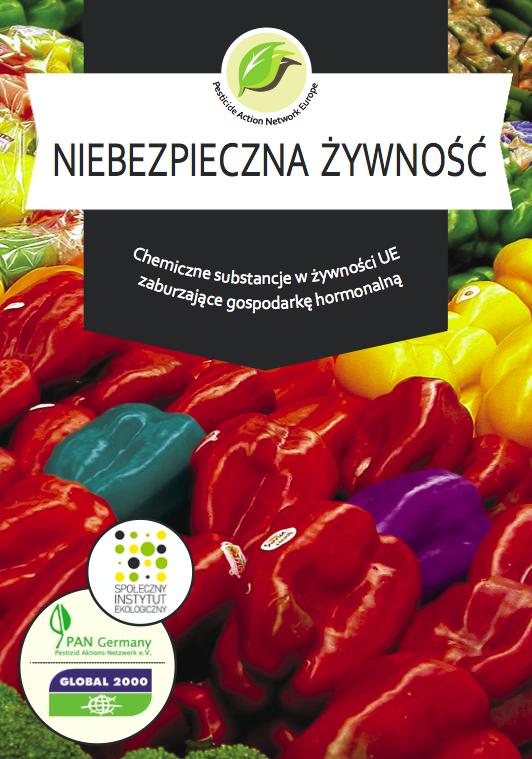 OKŁADKA - Niebezpieczna żywność by Pesticide Action Network