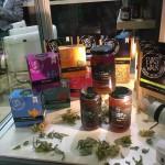 Konfitury, miody i herbaty