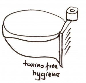 Środki higieniczne bez chloru