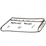 Ręczniki bawełniane, bambusowe