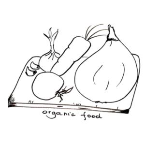 Organiczne warzywa i owoce