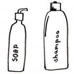 Mydła i szampony bez SLSów