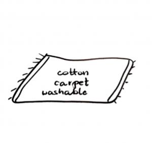 Dywaniki nadające się do prania