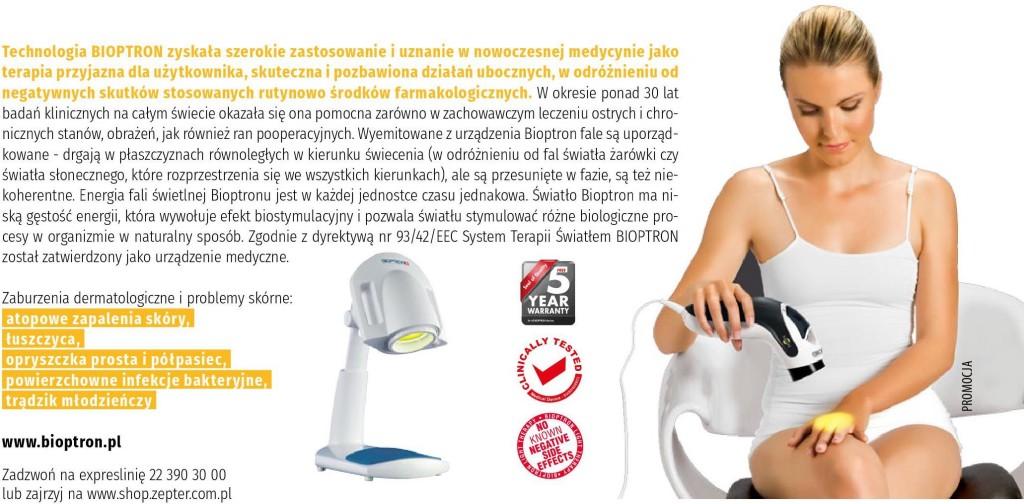 reklama leczenie światłem