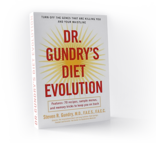 dr Steven R. Gundry Diet Evolution okładka cover