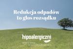 Hipoalergiczni okładka redukacja odpadów to głos rozsądku