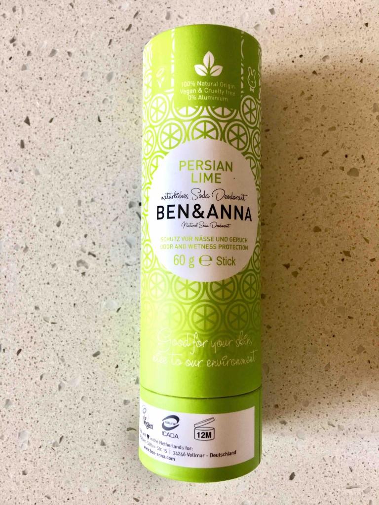 Ekologiczny dezodorant