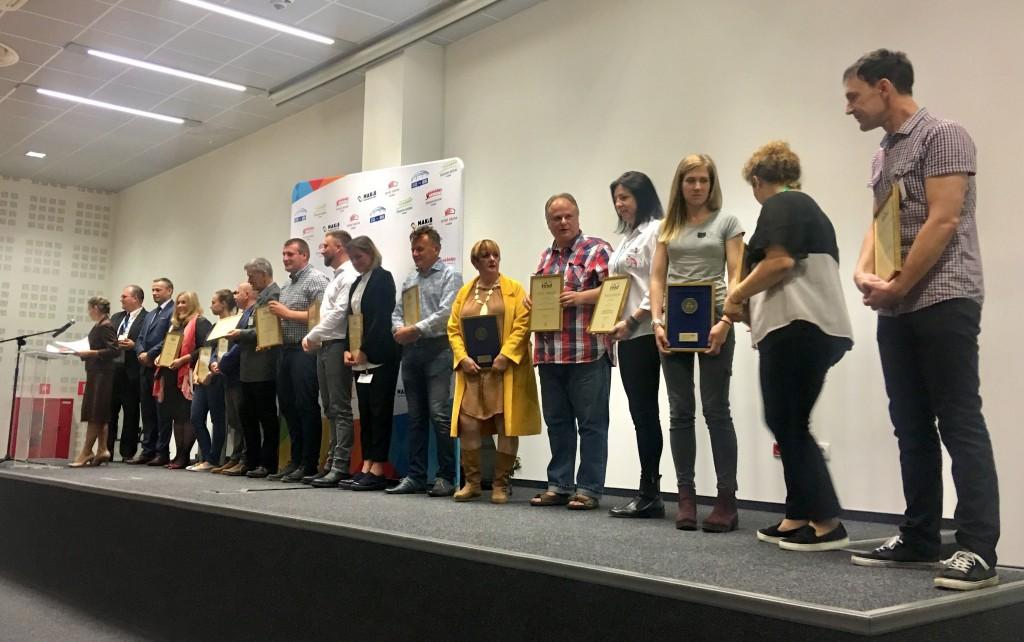 Laureaci Konkursu Złoty Medal 2018