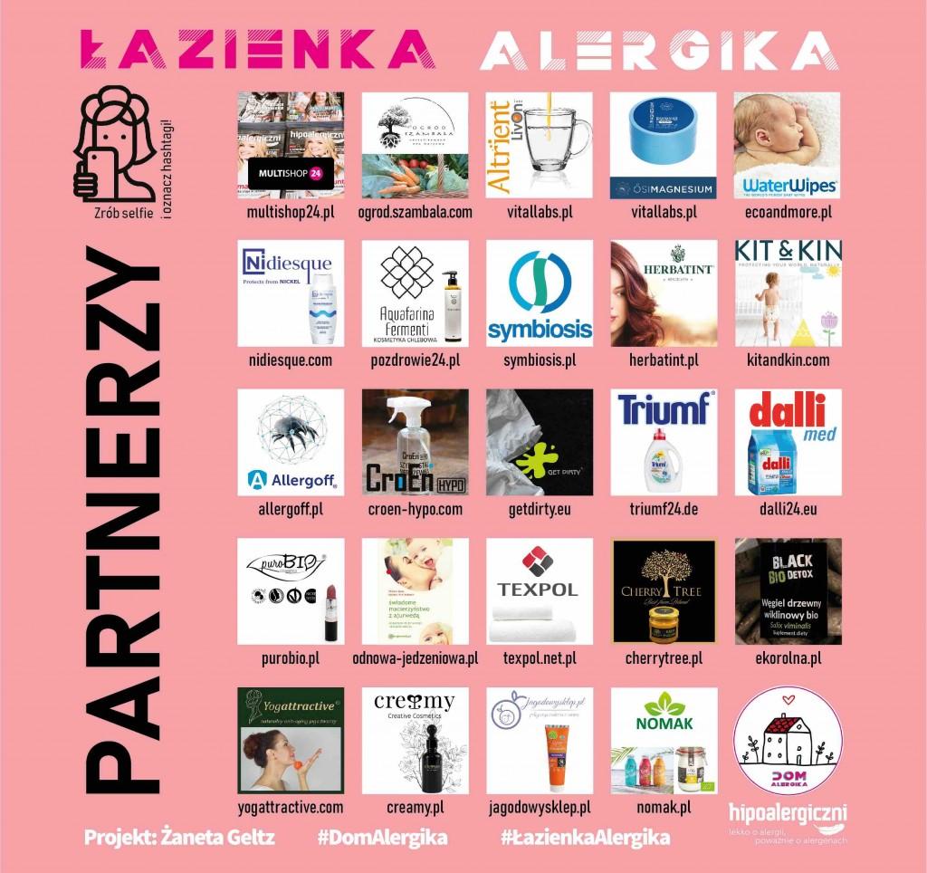 Partnerzy projektu Łazienka Alergika