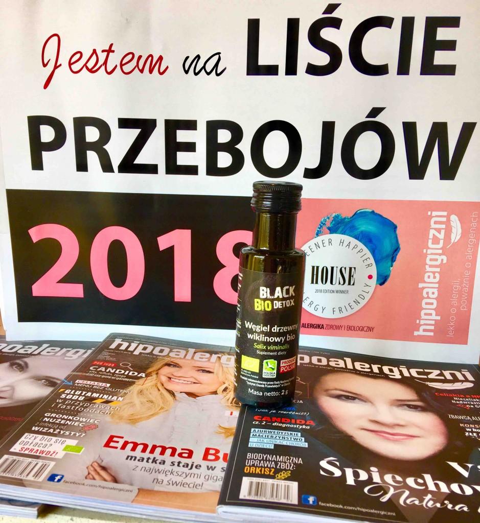 Premiera Łazienki Alergika - Black Bio Detox