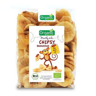 Chipsy bananowe Organic