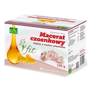 Macerat czosnkowy z olejem z nasion wiesiołka Gal