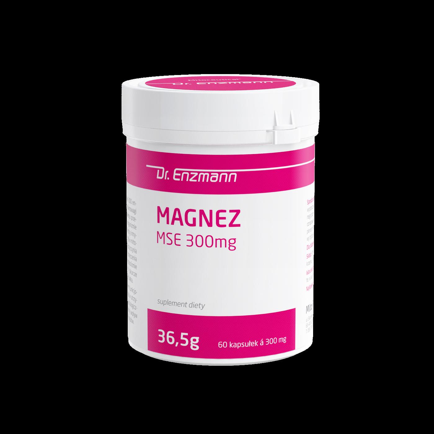 Magnez MSE 300 mg Dr Enzmann