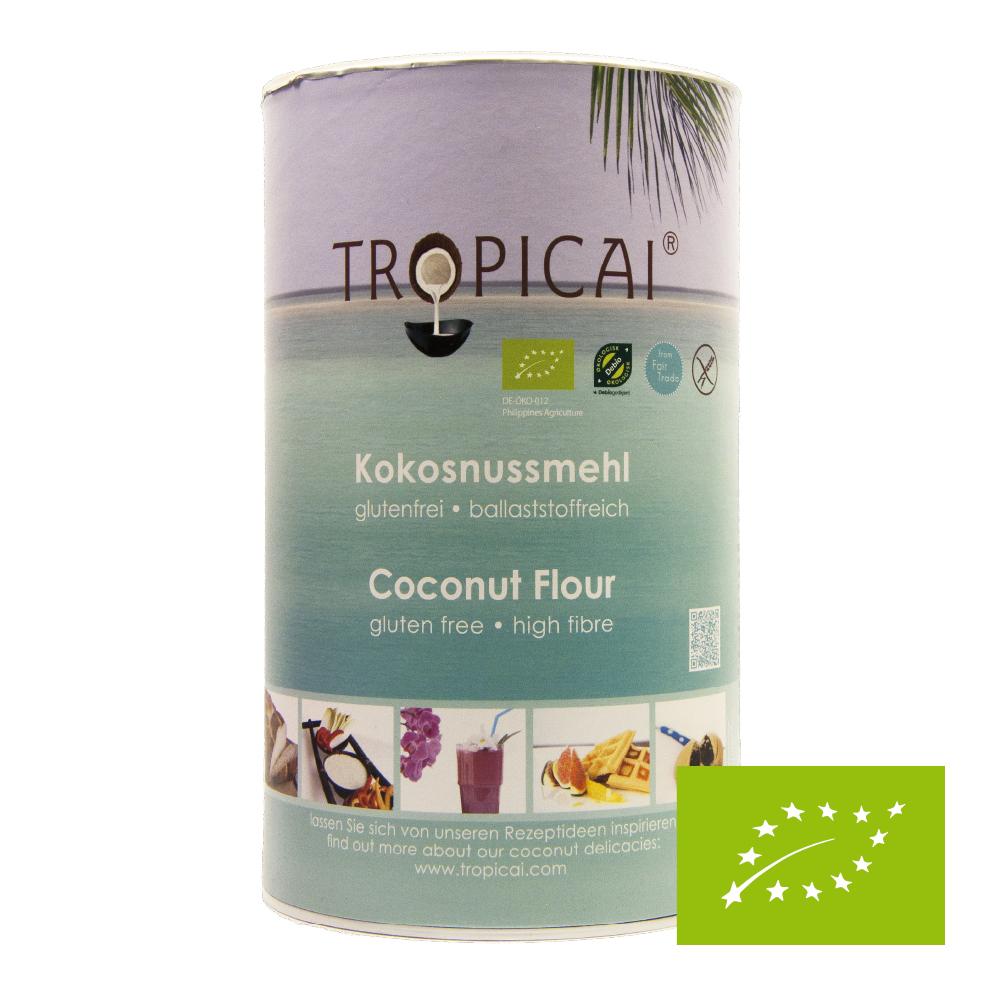 Mąka kokosowa BIO Tropicai