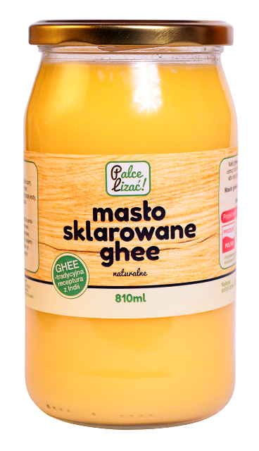 Masło sklarowane ghee Palce lizać