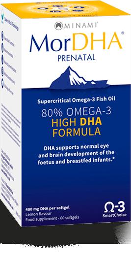 MorDHA Prenatal kwasy tłuszczowe Omega-3