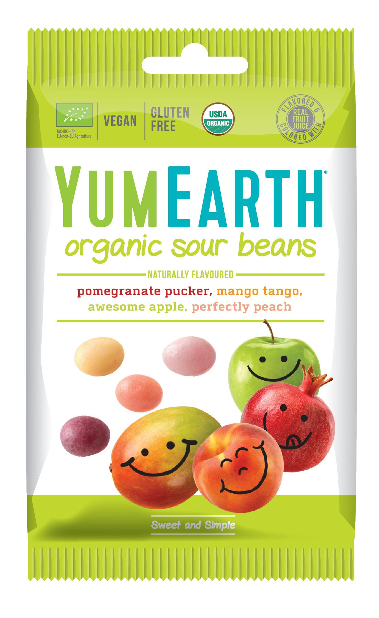 Przekąska Sour Beans YumEarth