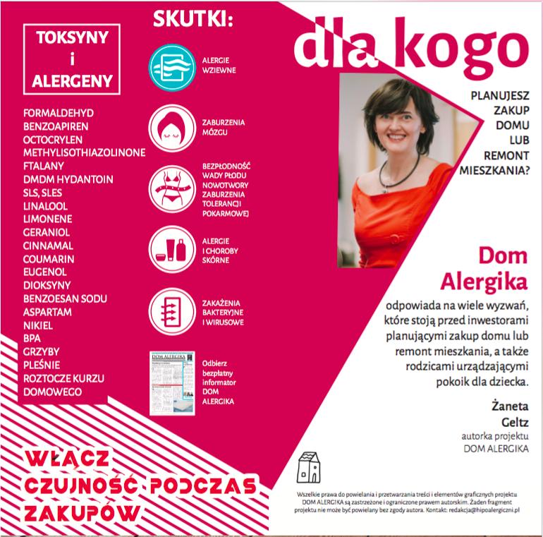 DOM BEZ TOKSYN - DOM ALERGIKA