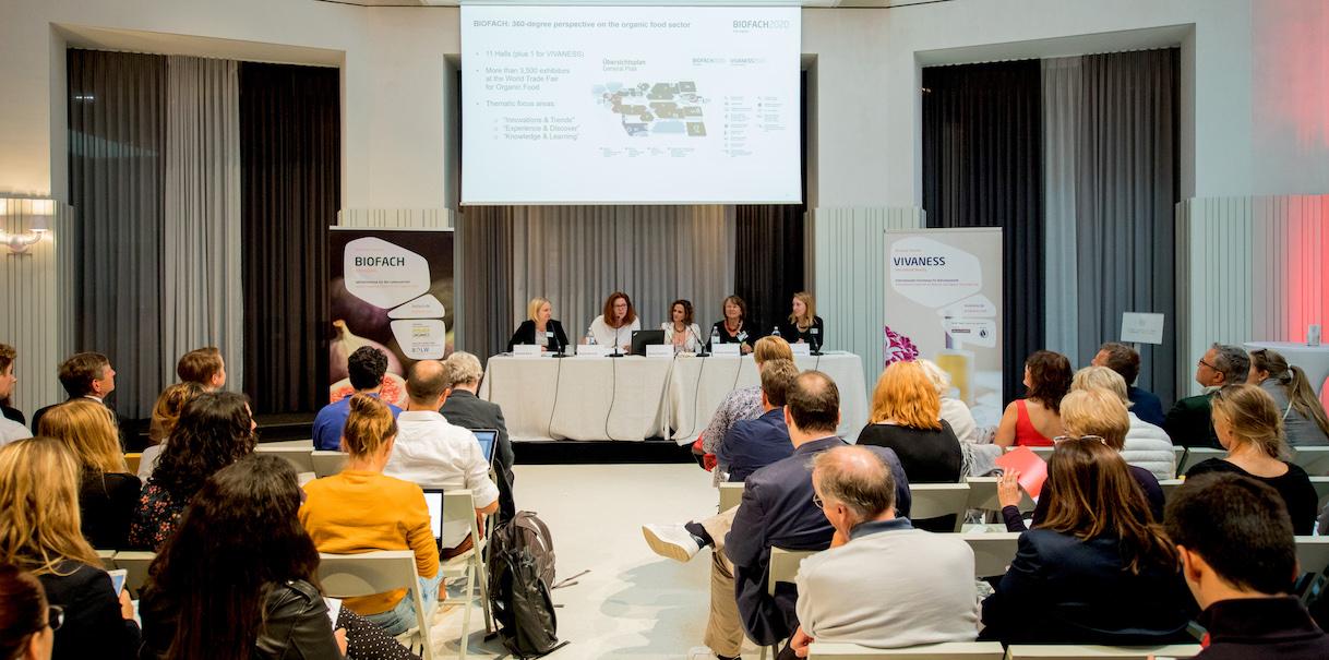 Pressekonferenz zur BIOFACH 2020 und VIVANESS 2020 am 17. September 2019 in der Labstelle in Wien.