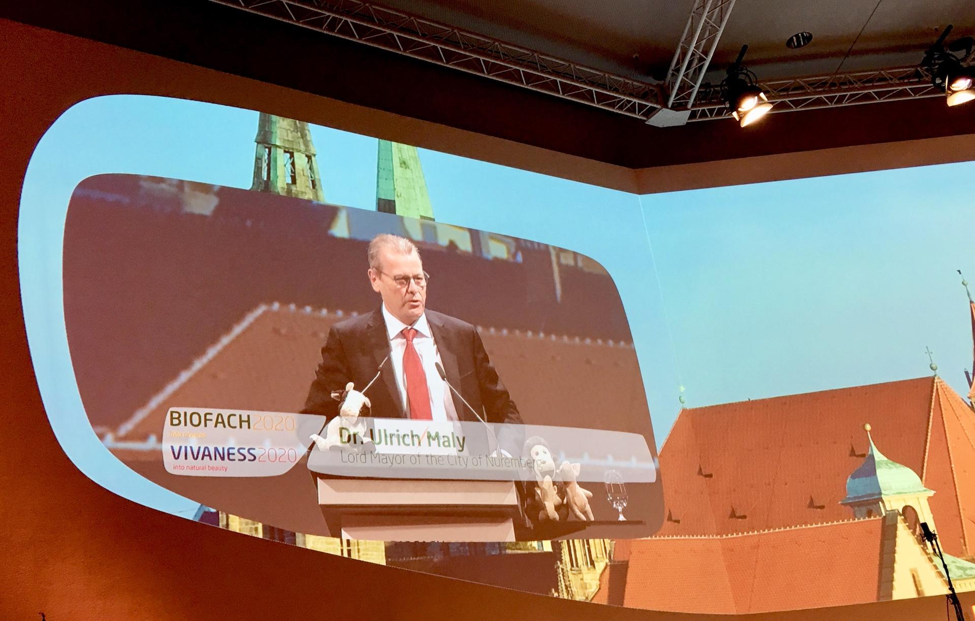 fot-zaneta-geltz-Nurnberg-messe-biofach-vivaness-happy-evolution-2020-Ulrich-Maly-Lord-Mayor-nuremberg