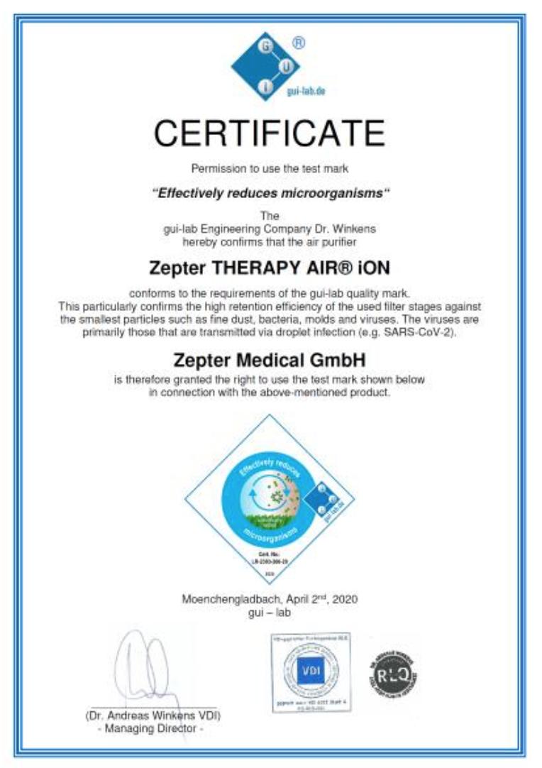 hipoalergiczni-certyfikat-therapyiOn-zepter