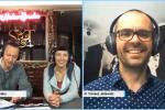 Jola Słoma i Mirek Trymbulak z Atelier Smaku rozmawiają z dr. Tomaszem Jeżewskim