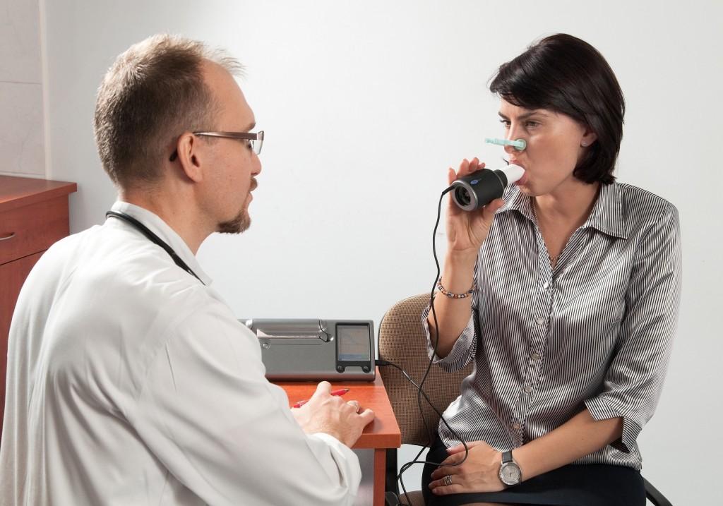 Badanie spirometryczne - spirometria