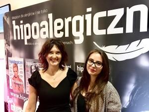 Helena Chmielewska wraz z Żanetą Geltz wygłosiły prelekcję zachęcającą do kuchni roślinnej – podczas targów Zero Waste w Gdyni.